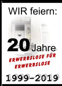 20 Jahre PadAlz - 20 Jahre Erwerbslose für Erwerbslose